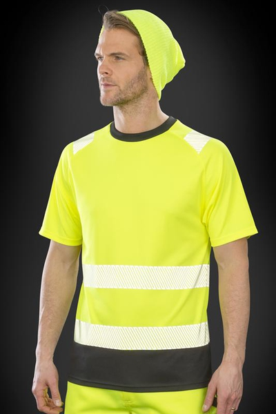RECYCLED SAFETY T-PAITA